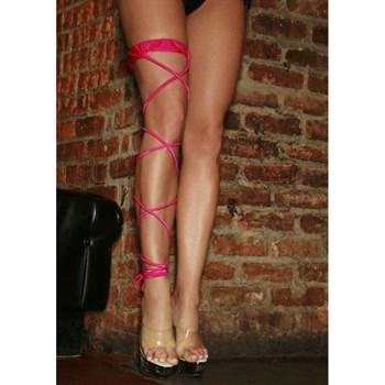 Подвязка на ножку CRISS-CROSS для танцев GO-GO