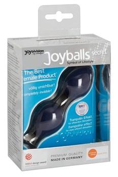 Синие вагинальные шарики Joyballs Secret
