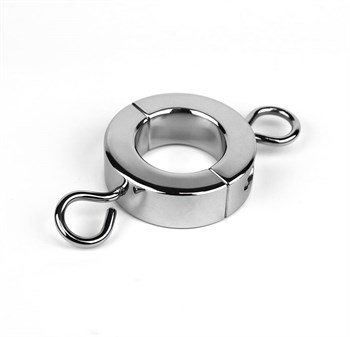 Малый зажим на мошонку с петлями для весов Ball Stretcher W/Attaching of Weights