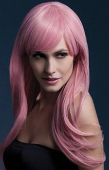Светло-розовый парик Sienna