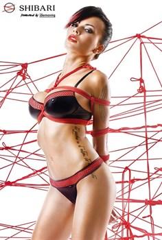 Комплект белья Masuyo с верёвками для связывания