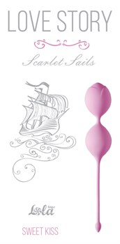 Розовые вагинальные шарики Scarlet Sails