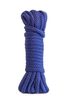 Синяя веревка Bondage Collection Blue - 3 м.