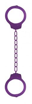 Фиолетовые металлические кандалы Metal Ankle Cuffs