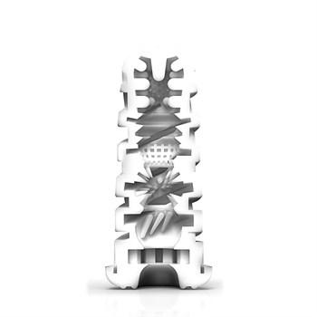 Мастурбатор с регулируемой плотностью обхвата Custom Strength CUP Twist Tickle