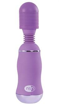 Фиолетовый вибромассажер с усиленной вибрацией BoomBoom Power Wand