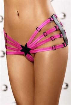 Яркие трусики со звёздочкой Star Panty shorts