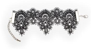 {{photo.Alt || photo.Description || 'Чёрный кружевной браслет Delicati pizzi'}}