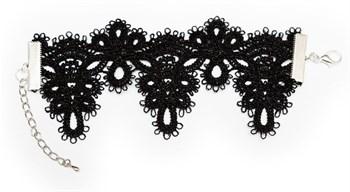{{photo.Alt || photo.Description || 'Чёрный кружевной браслет Delicati 2'}}