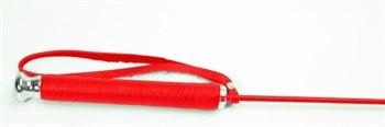 Красный стек со шлепком в виде сердца - 63,5 см.