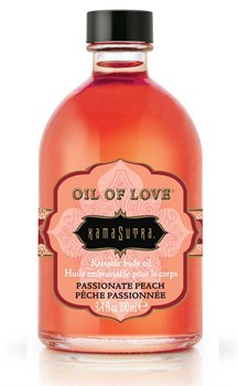 Масло для тела Oil Of Love Passionate Peach с ароматом персика - 100 мл.