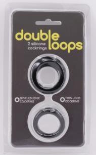 Набор из 2 эрекционных колец Double Loops