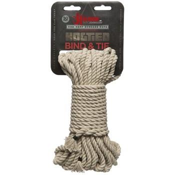 Бондажная пеньковая верёвка Kink Bind   Tie Hemp Bondage Rope 50 Ft - 15 м.