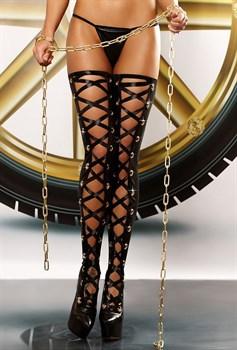 Чулки со шнуровкой Bizarre stockings