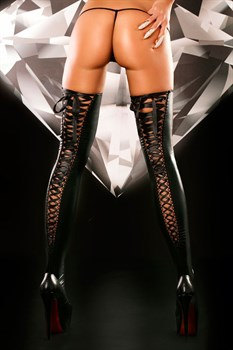 Чулки на шнуровке Lacing Stockings