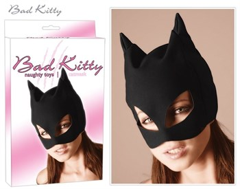 Полушлем с кошачьими ушками Katzenmaske