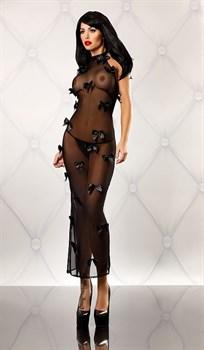Прозрачное платье с бантиками Bedroom Diva