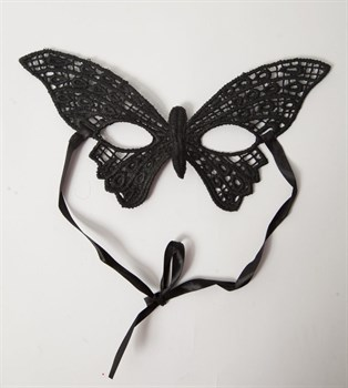 Кружевная маска  Бабочка