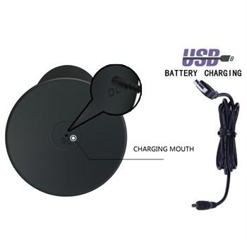 Анальная пробка с вибрацией Butt Plug Massager - 11 см.