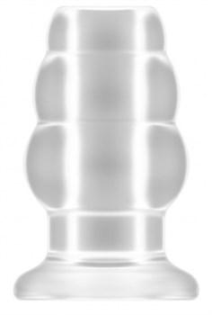 Прозрачная анальная пробка с тоннелем №51 Large Hollow Tunnel Butt Plug 5 Inch - 12,7 см.