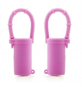 Розовые вибростимуляторы для груди
