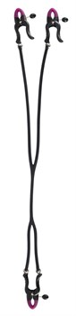 Зажимы на соски и клитор Silicone Nipple   Clit Clamps