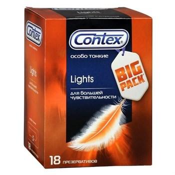 Особо тонкие презервативы Contex Lights - 18 шт.