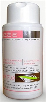 Очищающая интимная мицеллярная жидкость для женщин с экстрактом ромашки - 250 мл.