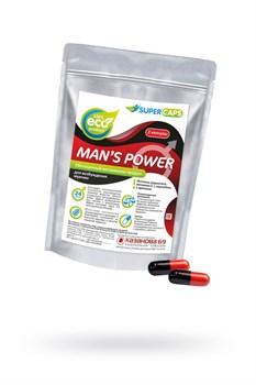 Капсулы для мужчин Man s Power+Lcamitin с гранулированным семенем - 2 капсулы (0,35 гр.)