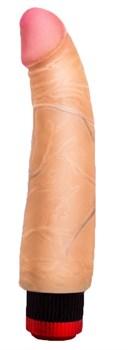 Телесный вибромассажёр COCK NEXT 6  - 17,5 см.