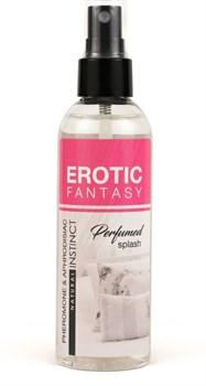Парфюмированная вода для тела и текстиля Erotic Fantasy - 100 мл.