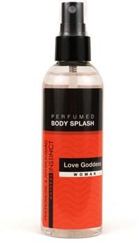 Женский спрей для тела с феромонами Love Goddess - 100 мл.