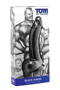Чёрный фаллоимитатор Black Magic - 30 см.
