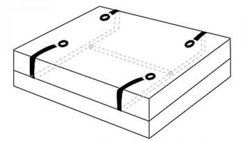 Бондаж для фиксации на кровати Hold Me Under the Bed Restraint System