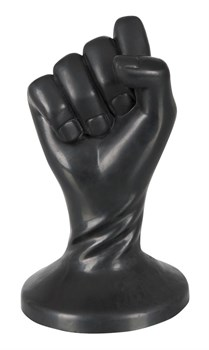 Анальная втулка Fist Plug в виде сжатой в кулак руки - 13 см.