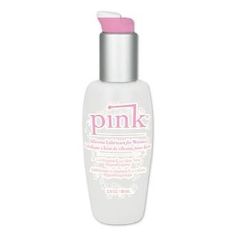 Силиконовый лубрикант Pink Silicone Intimate Lubricant - 80 мл.