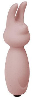 Розовый мини-вибратор с ушками Emotions Funny Bunny Light pink