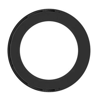 Чёрное эрекционное кольцо No.42 Cockring
