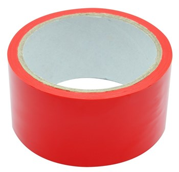 Красный скотч для связывания Bondage Ribbon - 18 м.