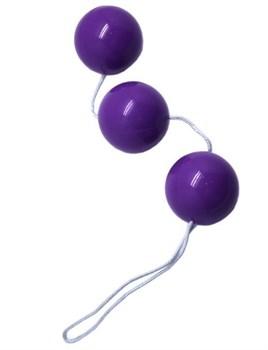 Фиолетовые тройные вагинальные шарики