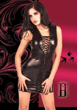 Облегающее платье с 3 шнуровками