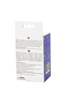 Фиолетовая анальная втулка Toyfa A-toys - 10,2 см.