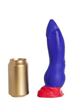 Синий фаллоимитатор  Номус Medium  - 24 см.