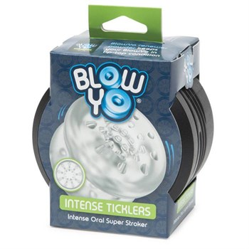 Мастурбатор с шишечками BlowYo Intense Ticklers Textured Blowjob Stroker