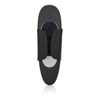 Чёрный вибростимулятор для ношения в трусиках Lock-N-Play Remote Panty Teaser
