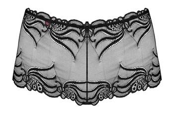 Кружевные трусики-шорты