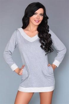 Домашняя сорочка-туника Maristela с кармашками