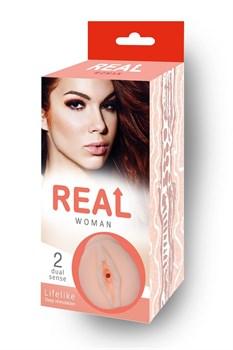 Реалистичный мастурбатор-вагина Real Woman