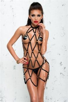Платье Anita в виде сетки из стреп-лент