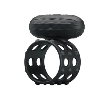 Широкое эрекционное кольцо с вибрацией Osborn